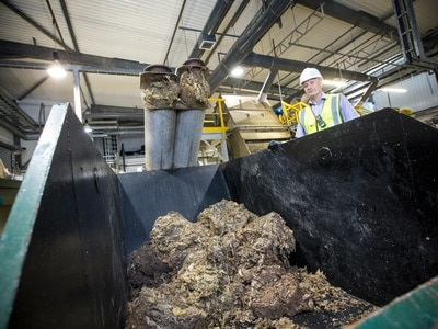 Flushed rubbish is causing a problem