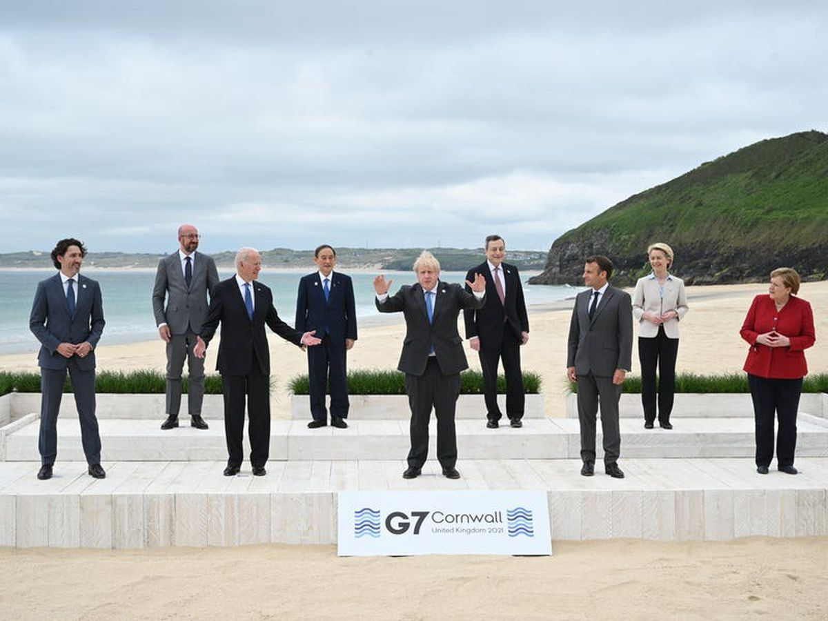 Johnson: G7 must learn from errors of the pandemic to 'build back better'