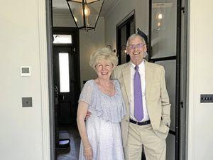 Tim Odiore and his wife Christine. (29436629)