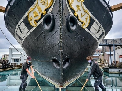 SS Great Britain prepares to reopen to visitors