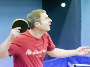 Pic by Adrian Miller 02-03-20.Table Tennis GTTC Jack Carrington tournament.Phil Ogier.. (27338921)