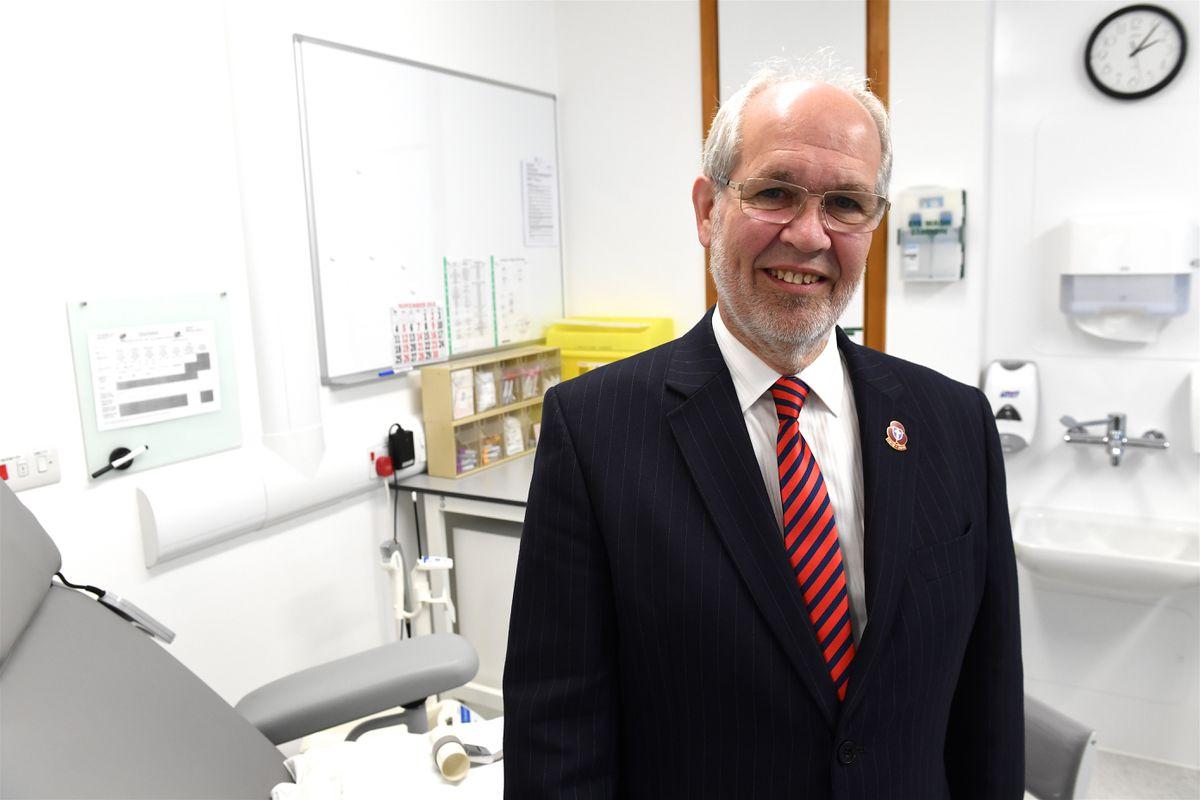 Jersey's Health minister Deputy Richard Renouf. (Picture by Jon Guegan, 29120272)