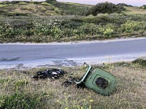 Three coastal bins were set alight last week after beach-going islanders incorrectly disposed of disposable barbeques. (28338084)