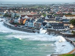 Island escapes worst as Storm Brian rolls by