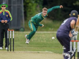 Guernsey Cricket v Sussex Academy.Matt Stokes.www.guernseysportphotography.com .Cricket at the KGV. Picture by Martin Gray, 04-08-19. (29101979)