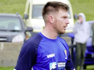 Alderney's new 'overseas' player Liam Gaugham. (Picture by David Nash, 28911921)