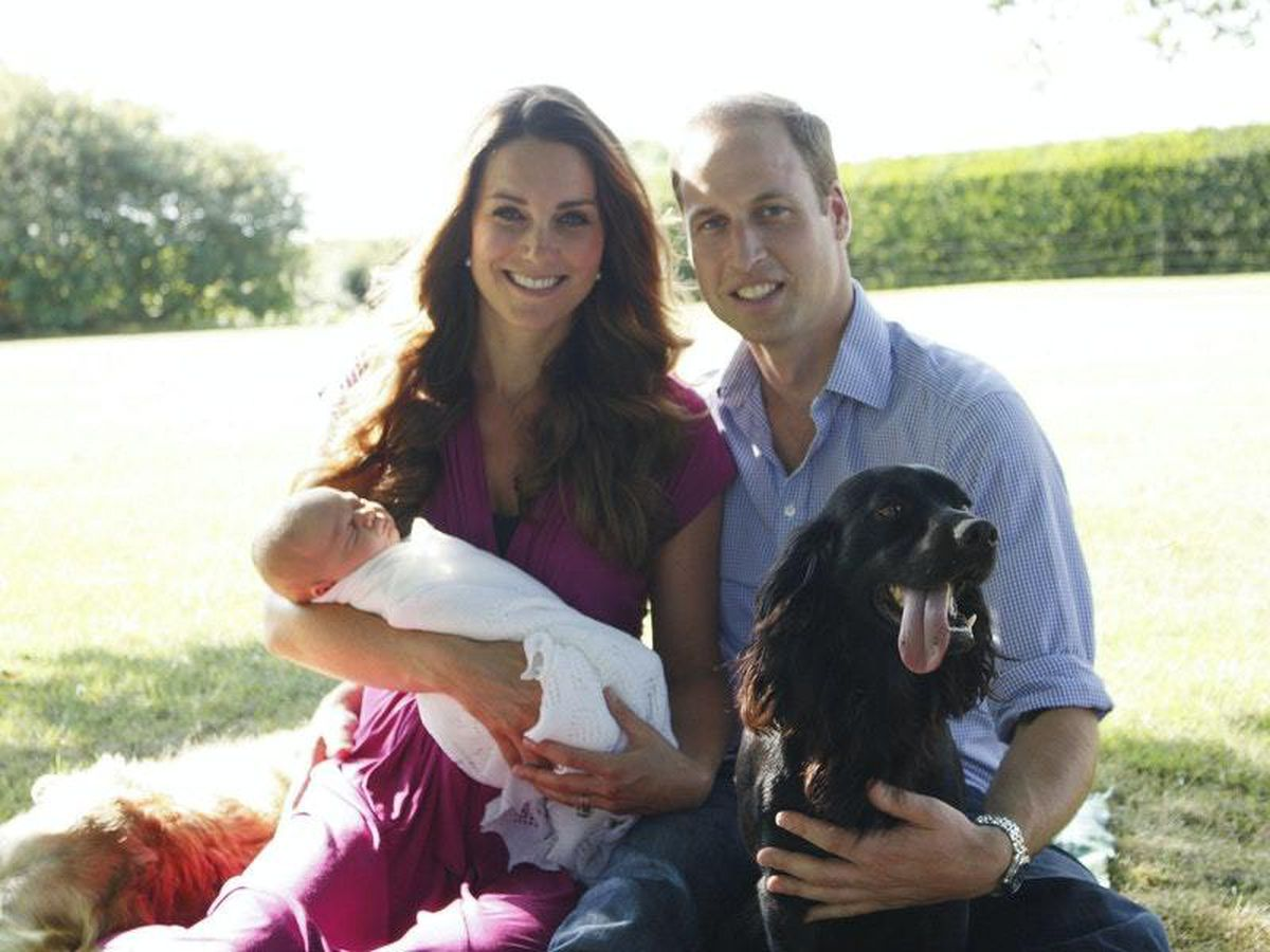 William and Kate's heartache after death of their dog Lupo