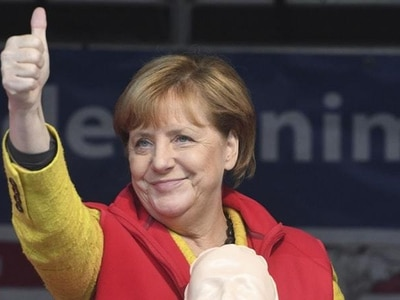 Merkel seeks to reach undecided voters in final push before election