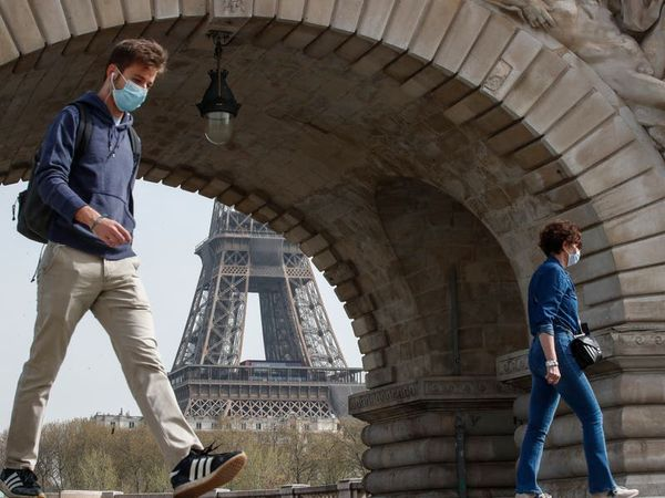 France's pandemic death toll reaches six figures amid new surge