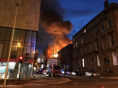 Mackintosh fire 'spreads to several properties' including music venue