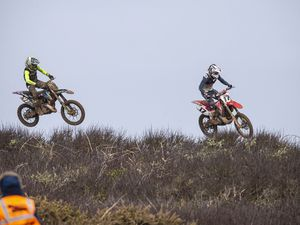 Picture By Peter Frankland. 07-03-20 Motocross at Pleinmont track.. (28776029)
