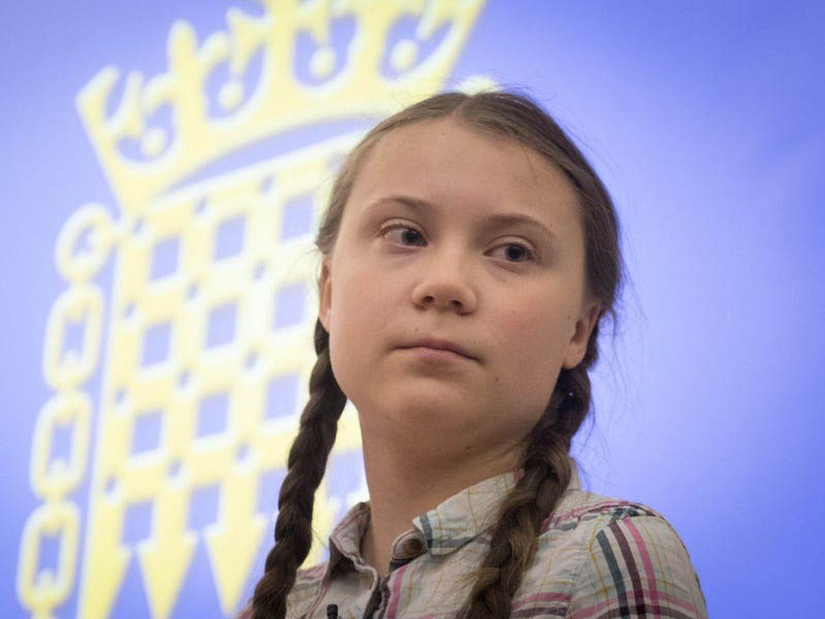 Greta Thunberg mocks 'happy old man' Donald Trump as he leaves White House