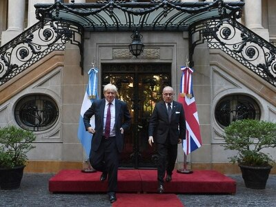 Sovereignty dispute no bar to commercial links with Argentina, says Johnson