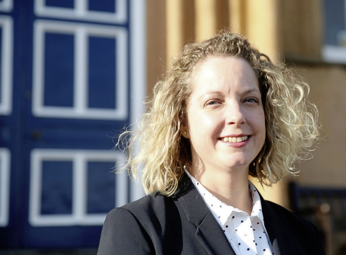 New Elizabeth College principal Jenny Palmer. (Picture by Adrian Miller, 19933170)