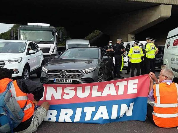 Police appeal for footage of M25 climate protest after more arrests made