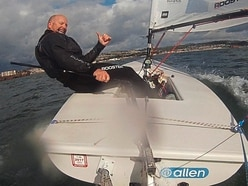 Sailor keeps his promise to raise money for Les Bourgs