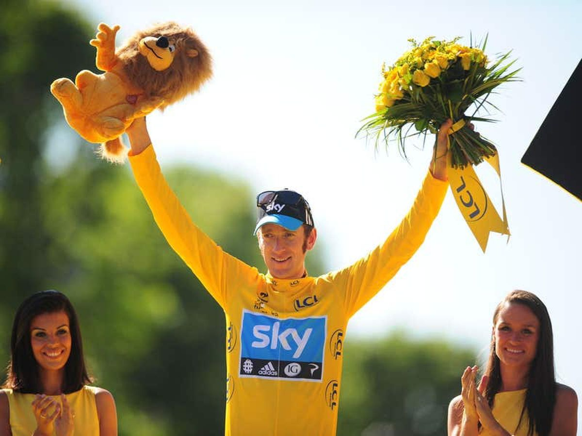 On this day in 2012: Bradley Wiggins wins the Tour de France