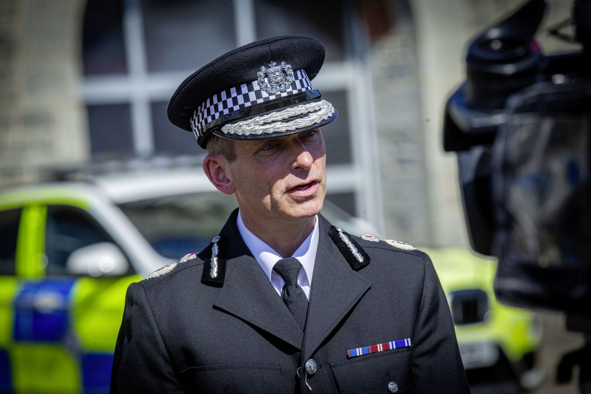 Head of Law Enforcement Ruari Hardy.. (29451074)