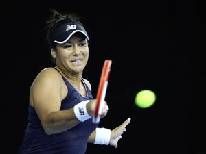 Heather Watson suffered a three-set defeat to former US Open champion Sloane Stephens in the first round at Indian Wells. (Picture PA Wire, 30060869)