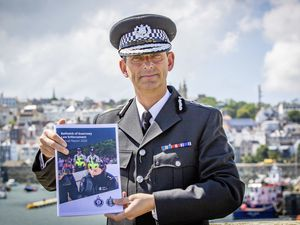 Picture By Sophie Rabey.  04-08-21.  Head of Law Enforcement Ruari Hardy interview on Annual Report.. (29837871)