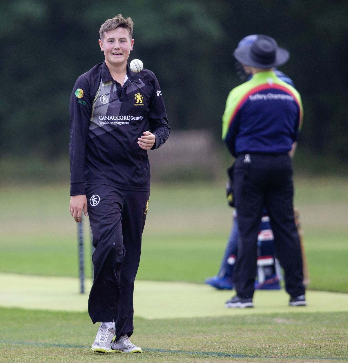 Seventeen-year-old Griffins seamer Luke Bichard has been named in the Guernsey national squad to face the Isle of Man. (Picture by Sophie Rabey, 28584628)