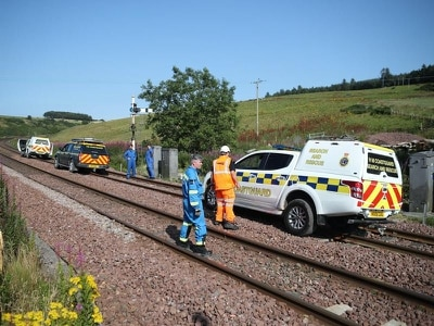 Network Rail to inspect trackside slopes across Britain after Stonehaven crash