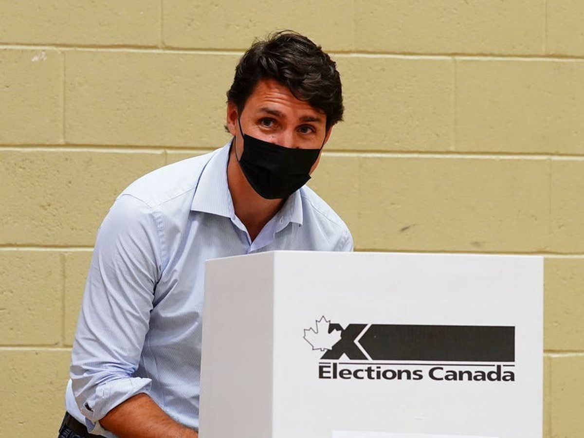 Justin Trudeau's party projected to win most seats in Canada's election