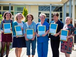 Extra recognition for caring on International Nurses Day
