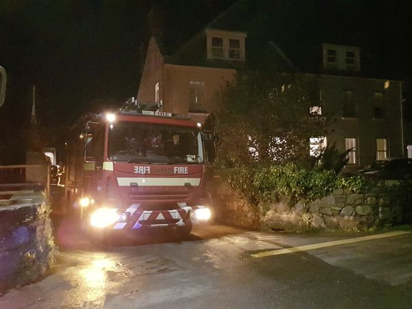 Firefighters were called to a washing machine fie in Les Tracheries on Friday night. (29154515)