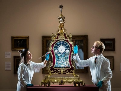 In video: Watch a whimsical ancient clock at work