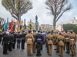 Islanders gather to pay their respects at memorial service