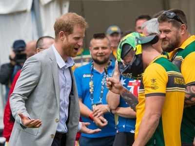 In Video: 'Budgie smugglers' a tight fit for Prince Harry