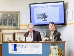 Banksy's Barcode Leopard art sold locally for £15,000