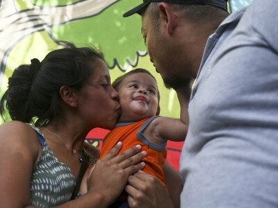 'Suffering' ends with Honduran baby back with parents after US border separation