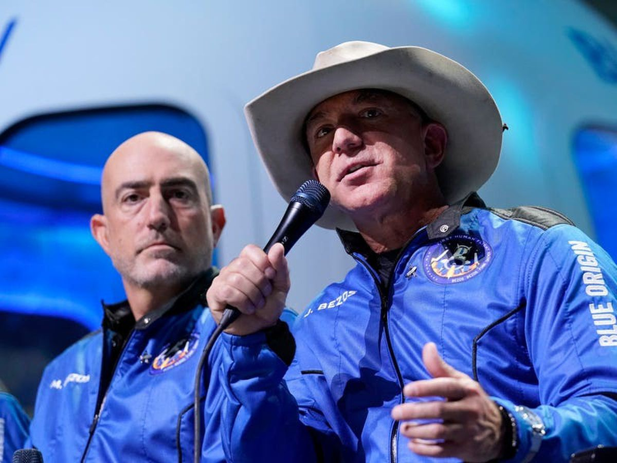 Bezos draws scorn for thanking Amazon workers after space flight