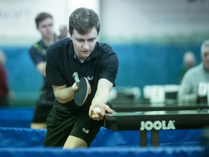 Perfect start: Josh Stacey won the domestic qualifier.