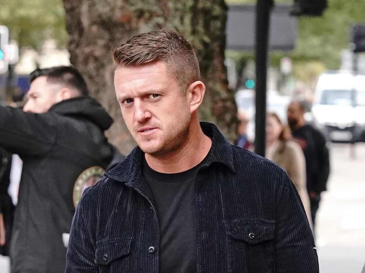 Tommy Robinson handed 5-year stalking order after harassing journalist