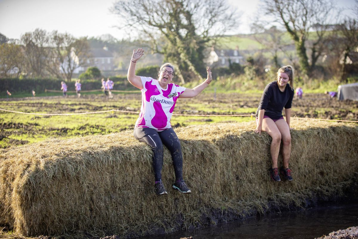 Picture by Sophie Rabey.  29-11-20. Muddy Cow Fun Run Vazon/Grande Mare. Sadie Bewey. (28963012)