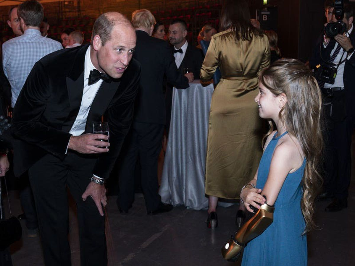 William praises first responders who 'faces their deepest fears' to save others