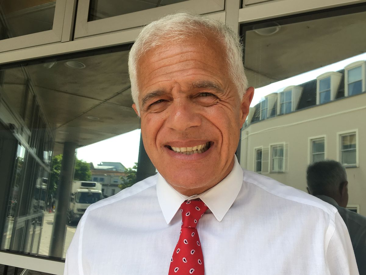 Dominic Lazarus, Director of Civil Aviation. (28942210)