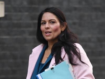 Home Secretary Priti Patel: no stranger to controversy