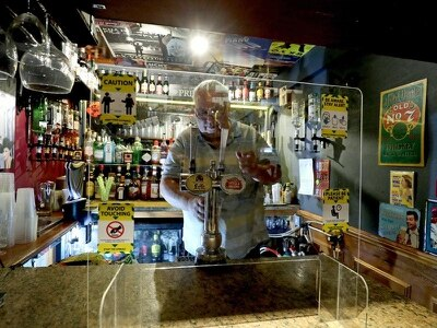 UK's 'smallest pub' ready for lockdown reopening