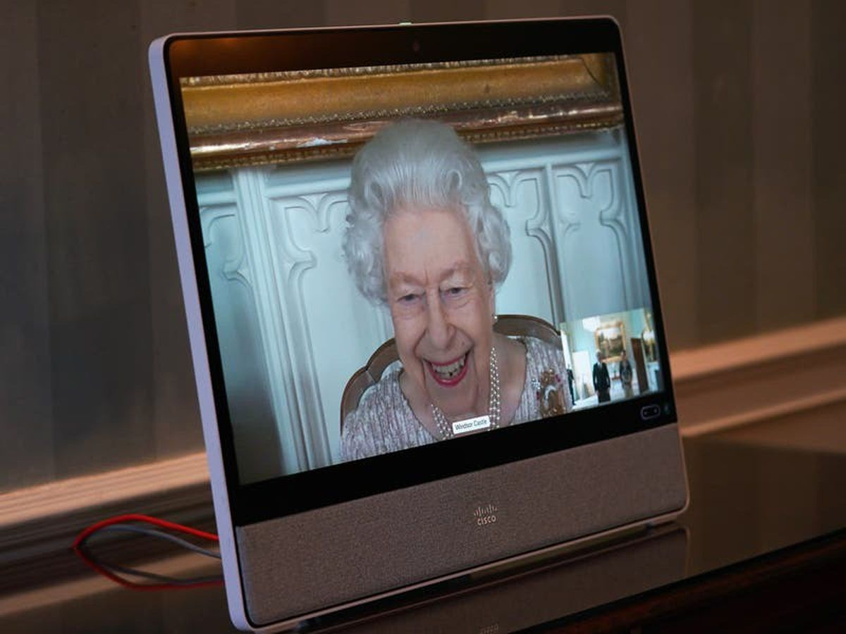 Queen honours royal head of tech after year of virtual engagements