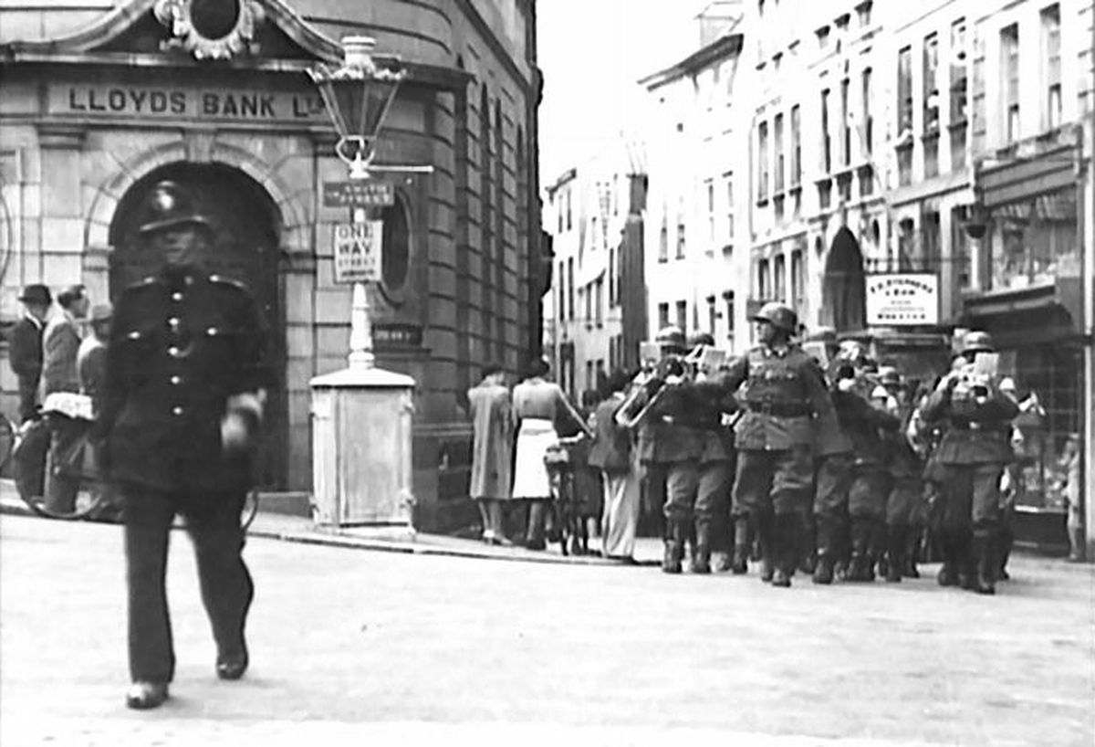 Guernsey Police and officers during the Occupation. (29016377)