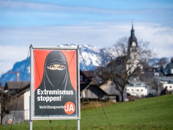 Swiss narrowly back proposal to ban face coverings in public