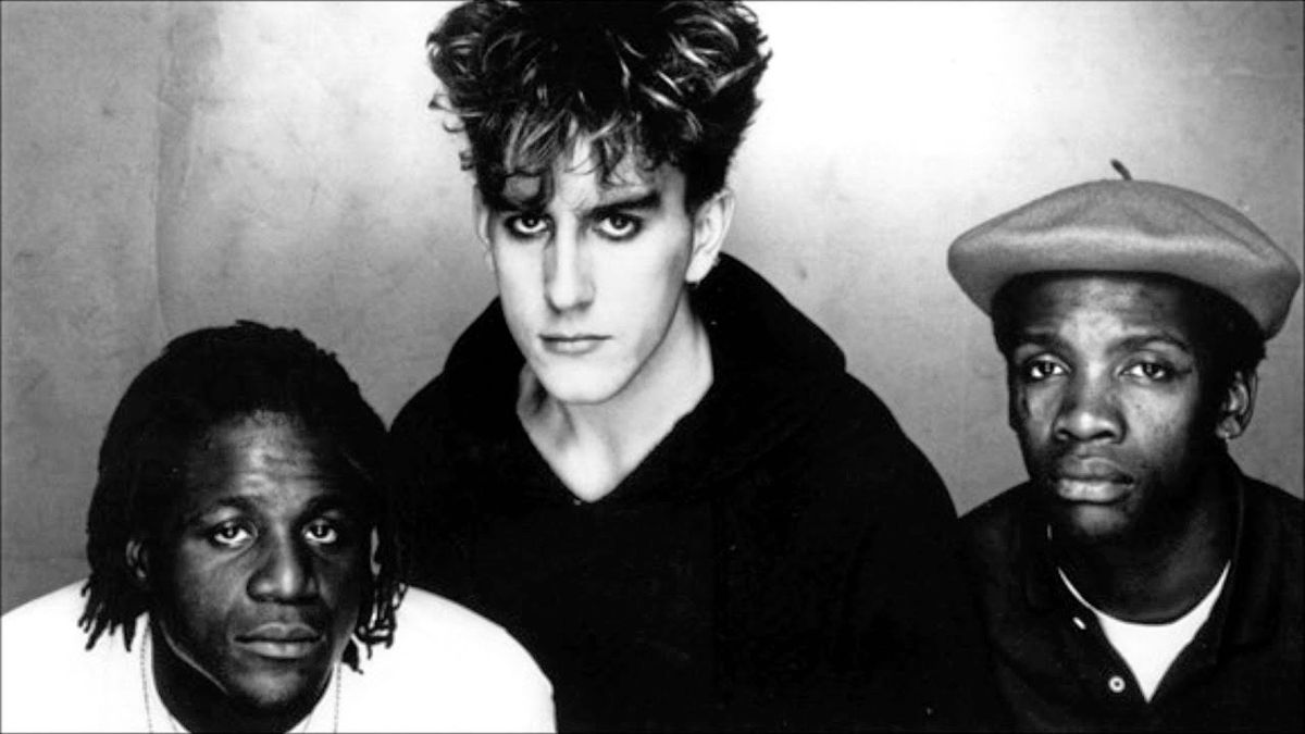 Fun Boy Three, circa early 80s. Left to right: Neville Staple, Terry Hall, Lynval Golding. (28840852)