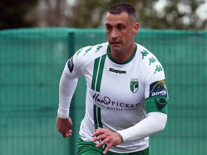 FOOTBALL - Bostik South East League final game of the season, Sittingbourne v. Guernsey FC, 27-04-19. GFC. Jamie Dodd.Picture by ESA Photos. (28374447)