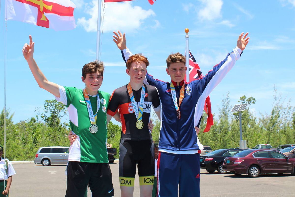 Big experience: The 2017 Bahamas 2017 Commonwealth Youth Games saw the young Sarmian win a silver medal in the boys' road race. (24267135)