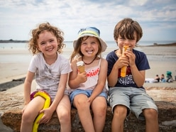 Hottest day of the year as temperature hits 30C