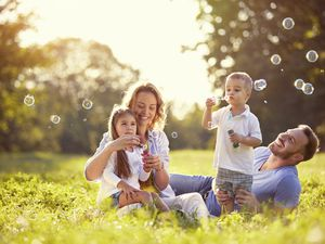 Happy family. (Shutterstock)